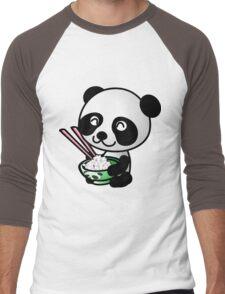 """Panda"" Men's Baseball ¾ T-Shirt"