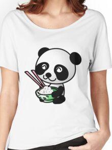"""Panda"" Women's Relaxed Fit T-Shirt"
