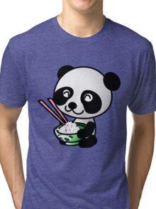 """Panda"" Tri-blend T-Shirt"