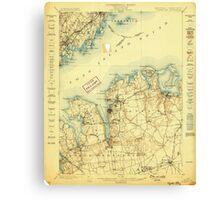 New York NY Oyster Bay 148121 1898 62500 Canvas Print