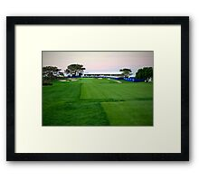 Number 8 At Torrey Pines South Course Framed Print
