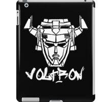 Voltron Head Street Art iPad Case/Skin