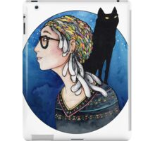 The Watcher and the Dreamer: color iPad Case/Skin