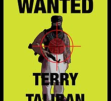 Wanted man by #fftw by TimConstable