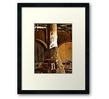 Canberra Cork Framed Print