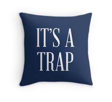 It's a Trap Throw Pillow