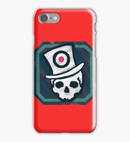 Hat Trick Skull  iPhone Case/Skin