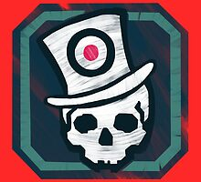 Hat Trick Skull  by apstephens