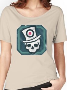 Hat Trick Skull  Women's Relaxed Fit T-Shirt
