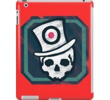 Hat Trick Skull  iPad Case/Skin
