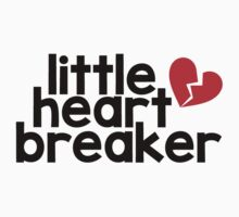 Little Heart Breaker One Piece - Short Sleeve