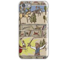 Part 4 of Outlandish Panels (Gabeaux Tapestry) iPhone Case/Skin