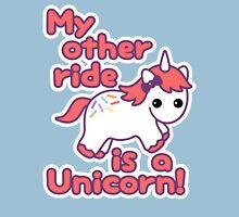 Unicorn Ride Womens Fitted T-Shirt
