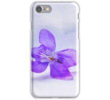 Violet Happy Birthday Mum iPhone Case/Skin