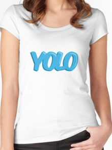 YOLO! Women's Fitted Scoop T-Shirt