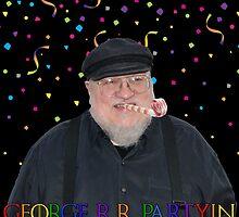 George R.R. Partyin' by eightkingdoms