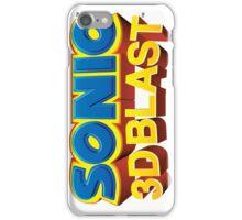 Sonic 3D BLAST Logo iPhone Case/Skin