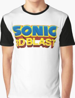 Sonic 3D BLAST Logo Graphic T-Shirt