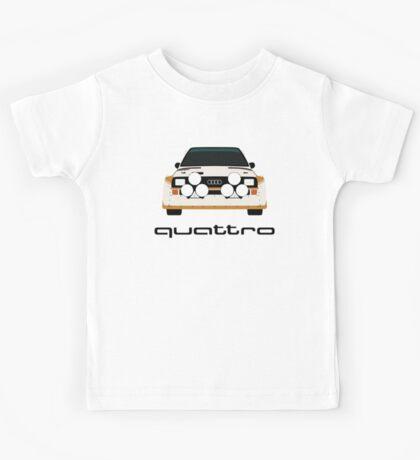 Audi Sport Quattro  Kids Tee