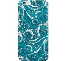Wavy Seamless Pattern iPhone Case/Skin