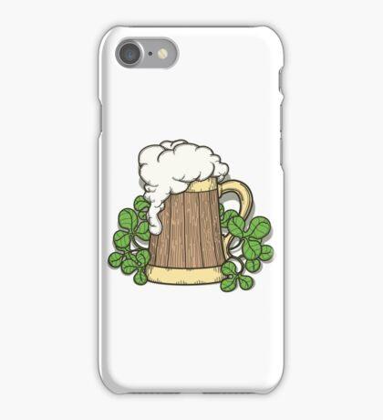 Beer Mug in Cartoon Style iPhone Case/Skin