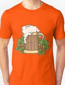 Beer Mug in Cartoon Style T-Shirt