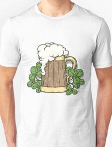 Beer Mug in Cartoon Style T-Shirt