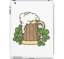 Beer Mug in Cartoon Style iPad Case/Skin