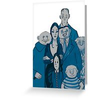 The Addams Family Greeting Card