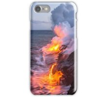 Kilauea Volcano Lava Flow Sea Entry 3- The Big Island Hawaii iPhone Case/Skin