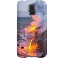 Kilauea Volcano Lava Flow Sea Entry 3- The Big Island Hawaii Samsung Galaxy Case/Skin