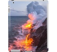 Kilauea Volcano Lava Flow Sea Entry 3- The Big Island Hawaii iPad Case/Skin