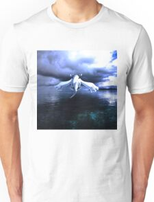 Lugia accros the sea Unisex T-Shirt