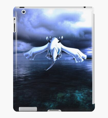 Lugia accros the sea iPad Case/Skin