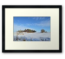 Iowa Winter 2 Framed Print