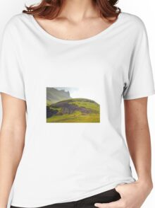 South Iceland Landscape Women's Relaxed Fit T-Shirt