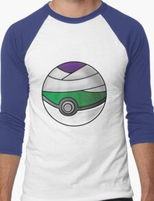 Piccolo Pokeball Men's Baseball ¾ T-Shirt