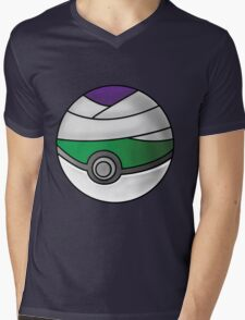 Piccolo Pokeball Mens V-Neck T-Shirt