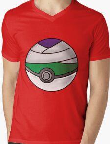 Piccolo Pokeball Mens V-Neck T-Shirt
