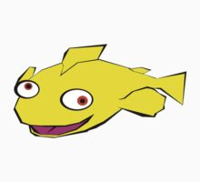 Yellow fish Kids Clothes
