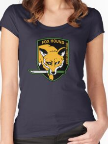 MGS -  Foxhound SFG Logo Women's Fitted Scoop T-Shirt