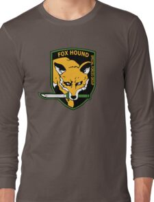 MGS -  Foxhound SFG Logo Long Sleeve T-Shirt