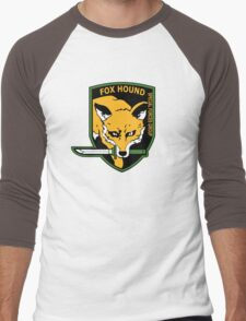 MGS -  Foxhound SFG Logo Men's Baseball ¾ T-Shirt