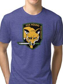 MGS -  Foxhound SFG Logo Tri-blend T-Shirt
