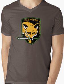 MGS -  Foxhound SFG Logo Mens V-Neck T-Shirt