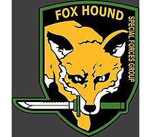 MGS -  Foxhound SFG Logo Photographic Print