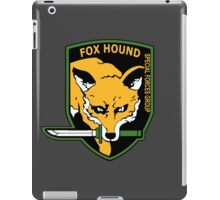 MGS -  Foxhound SFG Logo iPad Case/Skin