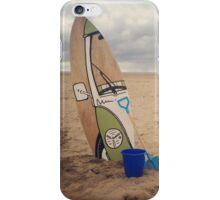 Vw camper van iPhone Case/Skin