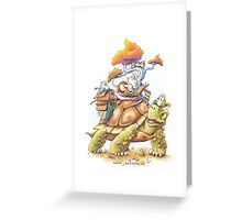 Book Adventure Greeting Card