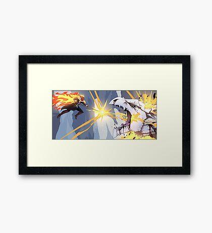 Hellish Rebuke Framed Print
